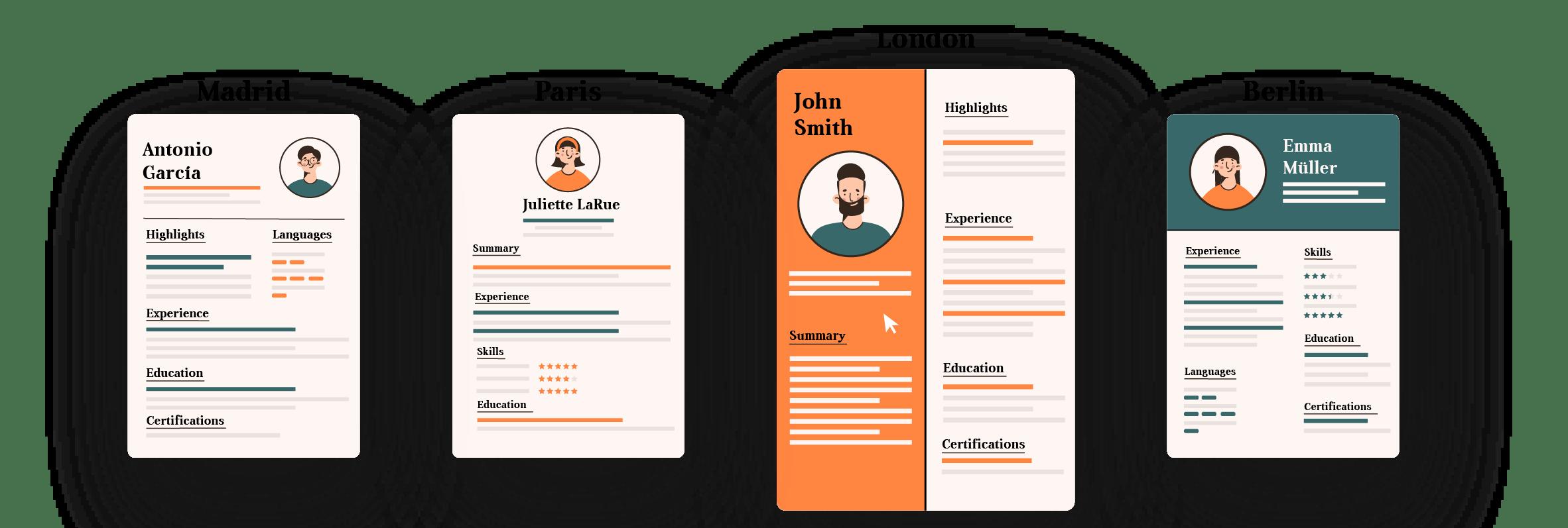 resume select